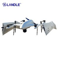 Ct-05 Fixed Wing Uav Vtol Drone For Aerial Surveillance Mapping With 8h Flight Time