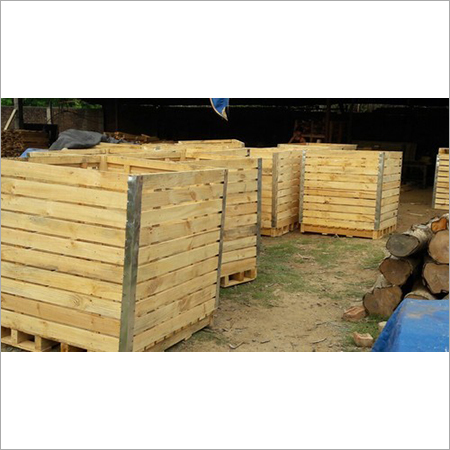 Wooden Crate Potato Bins