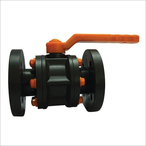 HDPE Ball Valve Flange End