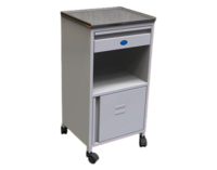 6060-M Hospital Bedside Locker Nh Type With Membrane Pressed Top