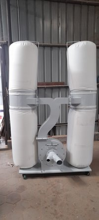 Double Pair Bag Wood Dust Collector
