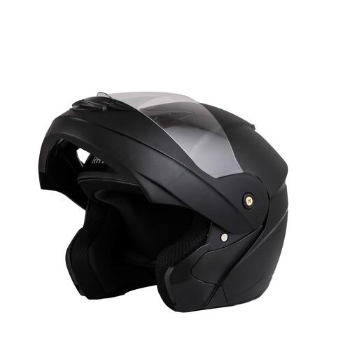 Black Full Face Bike Helmet