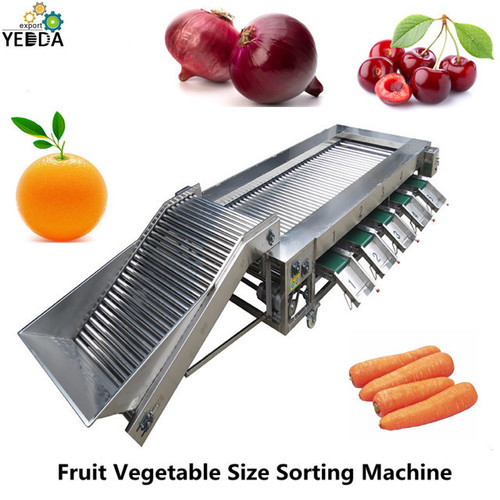 Ygd-4000  Full Automatic Fruit Vegetable Size Sorting Grading Machine