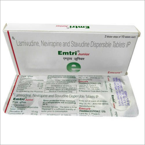 Lamivudine Nevirapine And Stavudine Dispersible Tablets