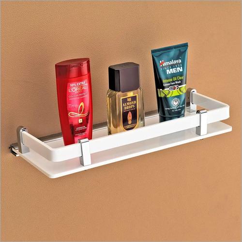 Bath Acrylic Wall Mount Shelf