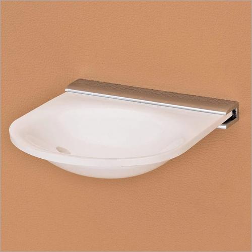 Single Acrylic Bath Soap Dish