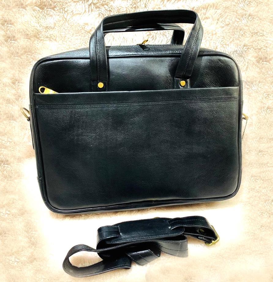 Designer Leather Laptop Bag