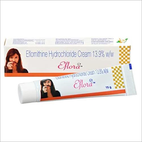 13.9%-15 mg Eflornithine Hydrochloride Cream