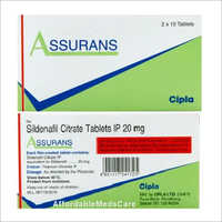 20 mg Sildenafil Citrate Tablets