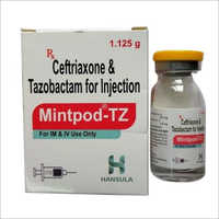 Ceftriaxone And Tazobactam For Injection