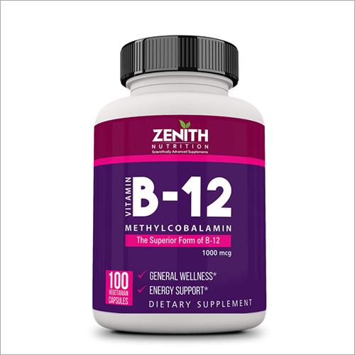 B-12 Methylcobalamine Supplements