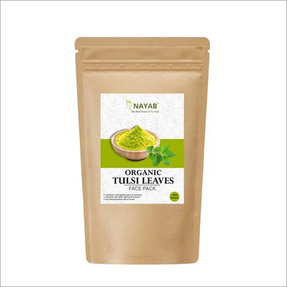 Nayab Organic Tulsi Leaves Face Pack Certifications: Halal