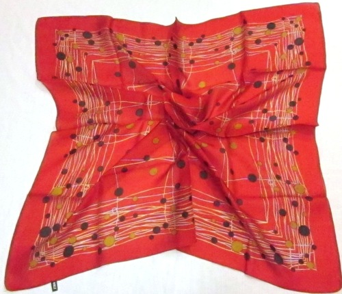 Silk Square Printed Scarves