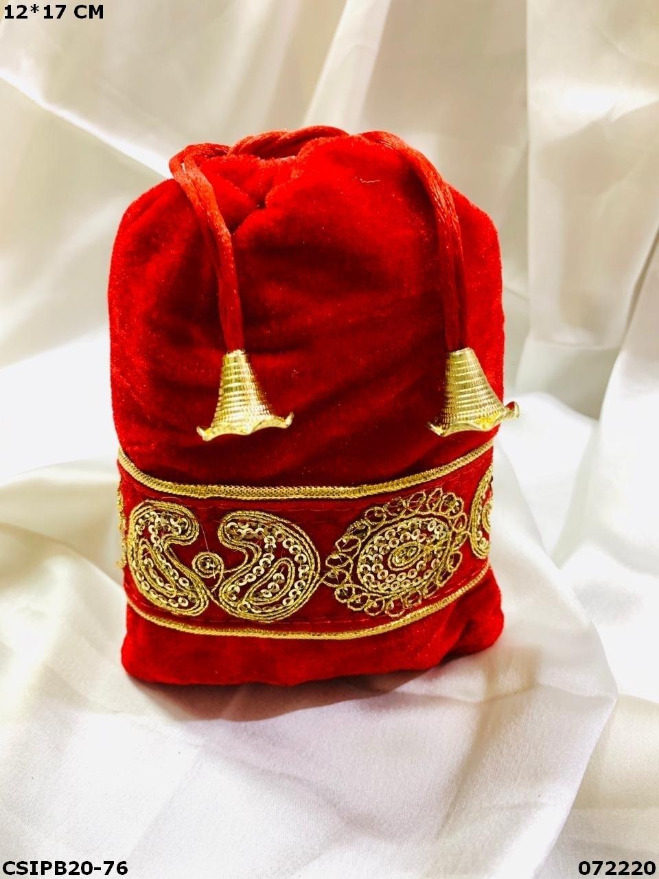 Stylish Potli Bag For Gifting