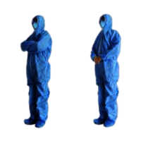 Ppe Disposable Isolated Gowns