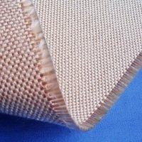 0.8mm Thickness HT2025 Heat Treated Caramelized Fiberglass Fabric