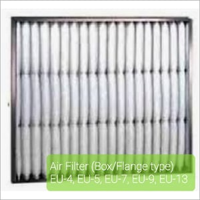 Box - Flange Type Air Filter
