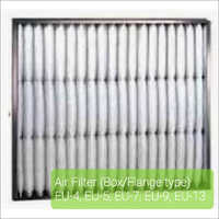 Box - Flange Type Air Filter