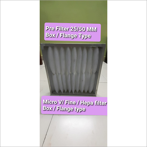 Box - Flange Type Pre Filter