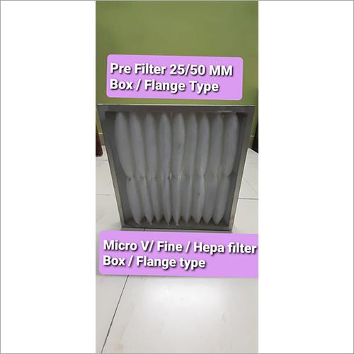 Box - Flange Type Pre Filter