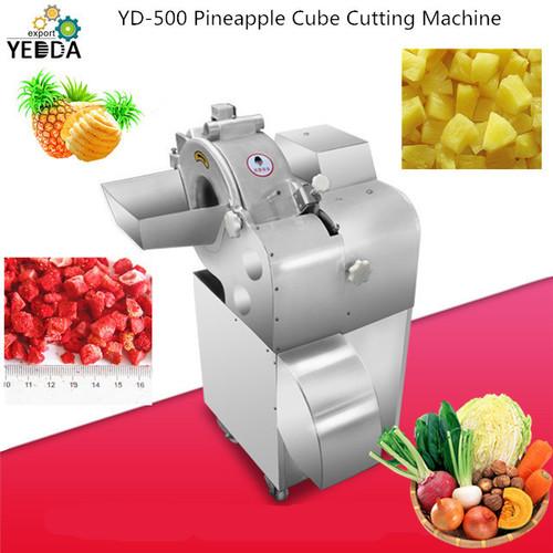 YD-500 Pineapple Cube Cutting Machine