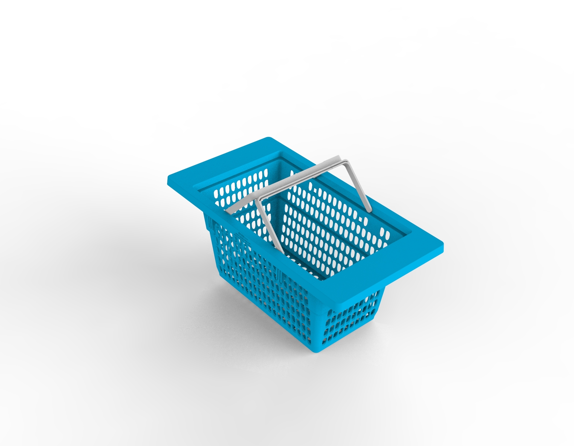 Plastic Shopping Basket Mould