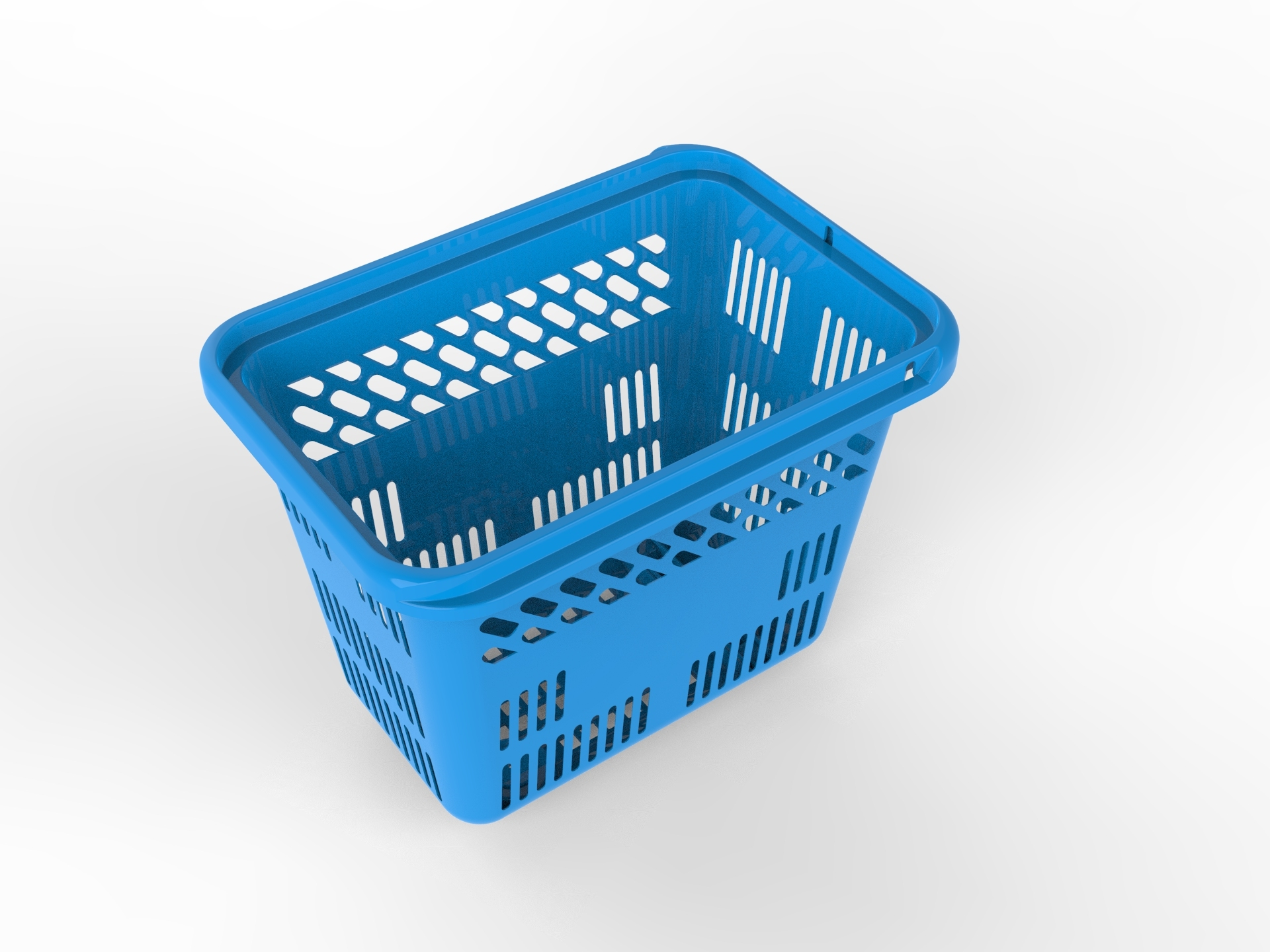 Plastic Bathroom Basket Mould