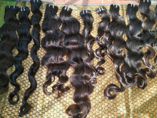 Without Chemical Processed Pure Body Wavy Indian Human Hair