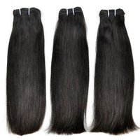 Double Drawn Human Hair Extensions With Raw Hair