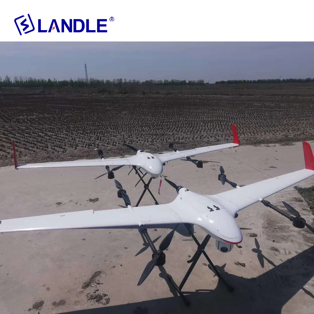 Ct-15 Vtol Fixed Wing Inspection Drone For Surveillance Pipeline Monitoring