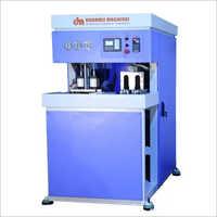 Semi Automatic PET Bottle Blow Moulding Machine