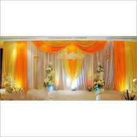 Wedding Stage Backdrop And Curtains