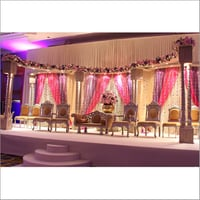 Fiber Wedding Mandap And Wedding Stage