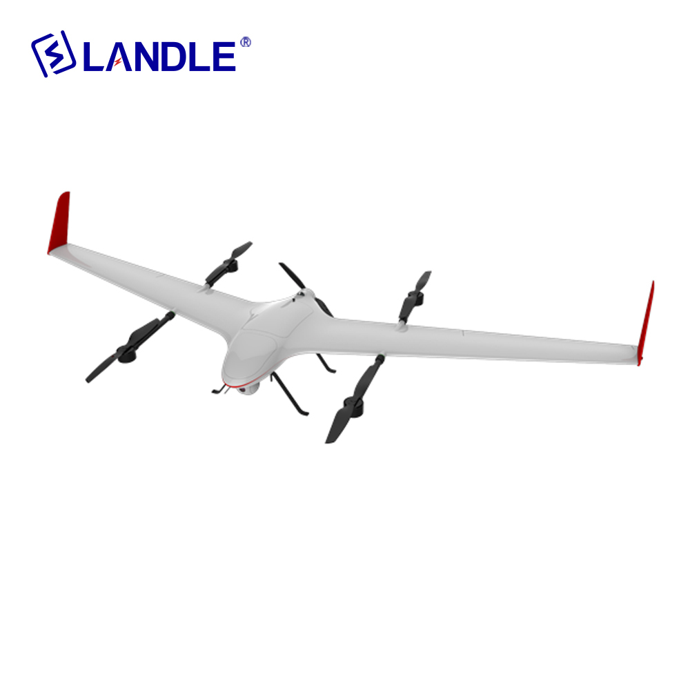 Ct-15 Fixed Wing Long Range Vtol Uav Mapping Drone For Survey