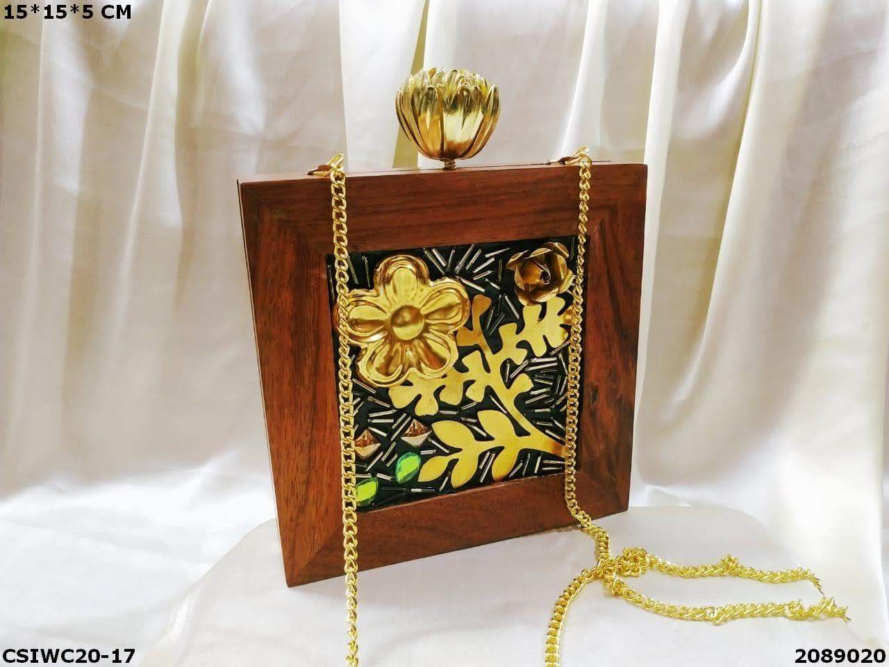 Exclusive Wooden Clutches