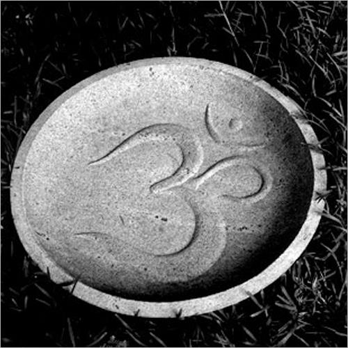 Granite Engraved Outdoor Basin