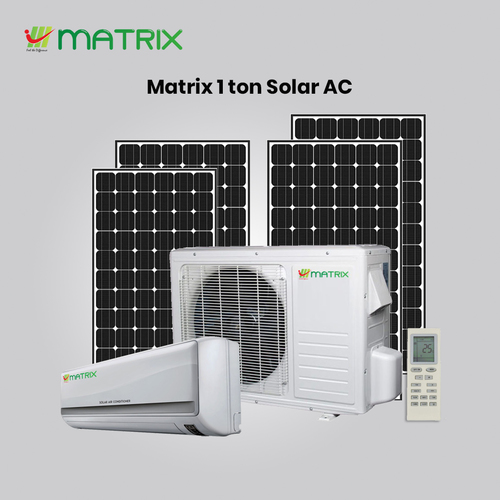 solar Air conditioner 1 Ton Indoor  Unit / Out Door Unit Solar panelSolar Air Conditioner 1 Ton Indoor  Unit / Out Door Unit Solar Panel