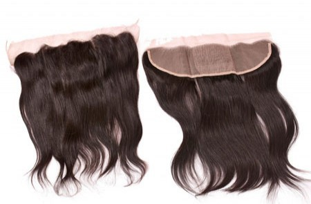 Hd Looking Lace Frontal Closure With Human Hair Extensions