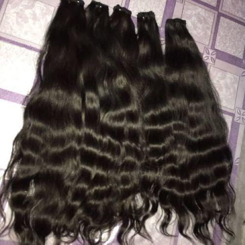 Virgin Raw Wavy Human Hair Extensions