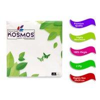 Kosmos Premium Quality 29x29cm Paper Napkins - 2 Ply 50 Pull