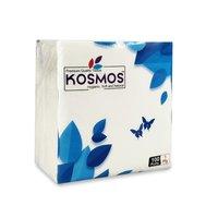 Kosmos Premium Quality 29x29cm Paper Napkins - 1 Ply 100 Pull