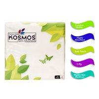 Kosmos Regular Use Quality 29x29cm Paper Napkins - 2 Ply 50 Pull