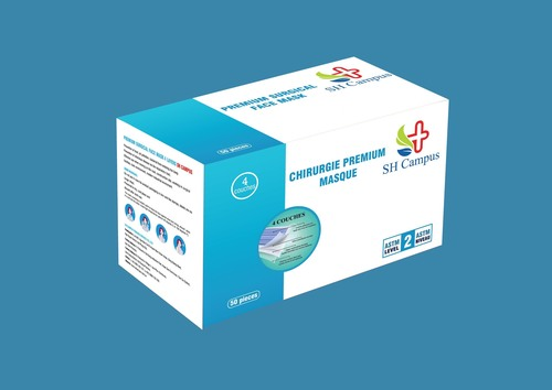 4 ply surgical mask (99% BFE SGS)