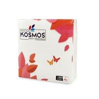 Kosmos Regular Use Quality 29x29cm Paper Napkins - 1 Ply 100 Pull