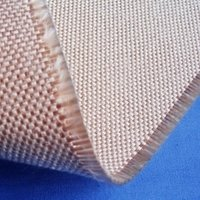 1.5mm Thickness Heat Treated Caramelized Fiberglass Fabric