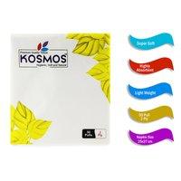 Kosmos Premium Quality 25x27 Cm Paper Napkins - 2 Ply 50 Pull