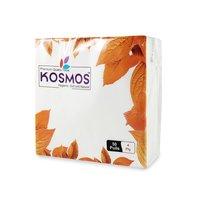 Kosmos Premium Quality 38x38 Cm Paper Napkins - 4 Ply 50 Pull