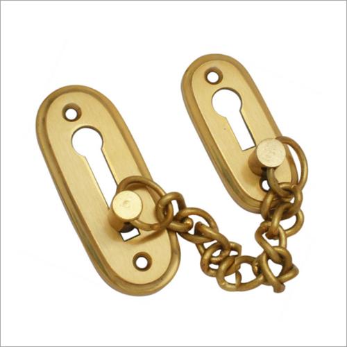 DC 426 Skoda Brass Door Chain