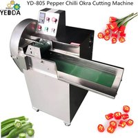 YD-805 Pepper Chilli Okra Cutting Machine