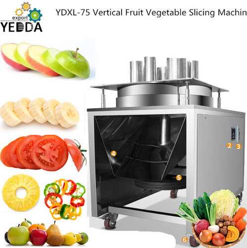 YDXL-75 Vertical Fruit Vegetable Slicing Machine